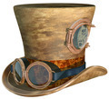 Steampunk Hat and Goggles - PhotoDune Item for Sale