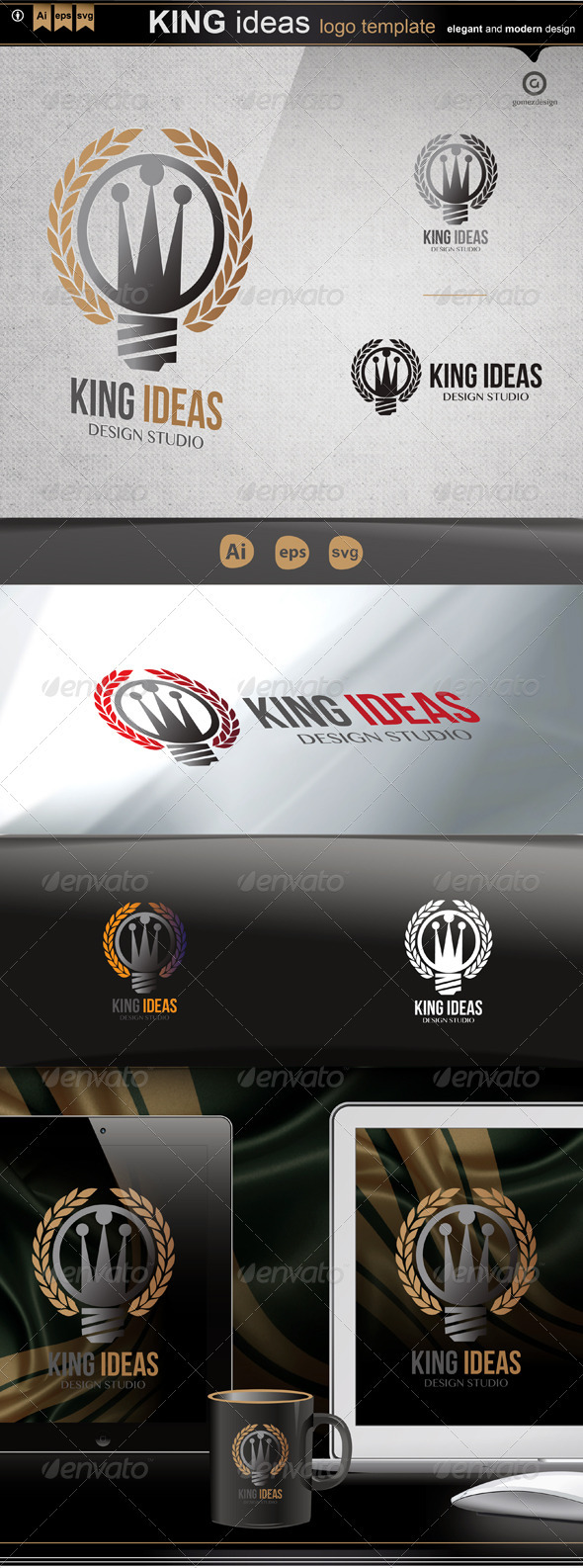 GraphicRiver King ideas 3439005