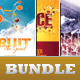 Church Marketing Flyer Bundle-Vol 007 - GraphicRiver Item for Sale