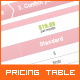 3-Plan Pricing Table - GraphicRiver Item for Sale