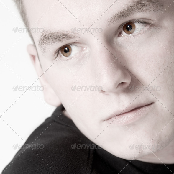 Boys portrait close up - Stock Photo - Images