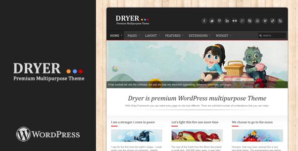 ThemeForest Dryer Multipurpose WordPress Theme 1945888
