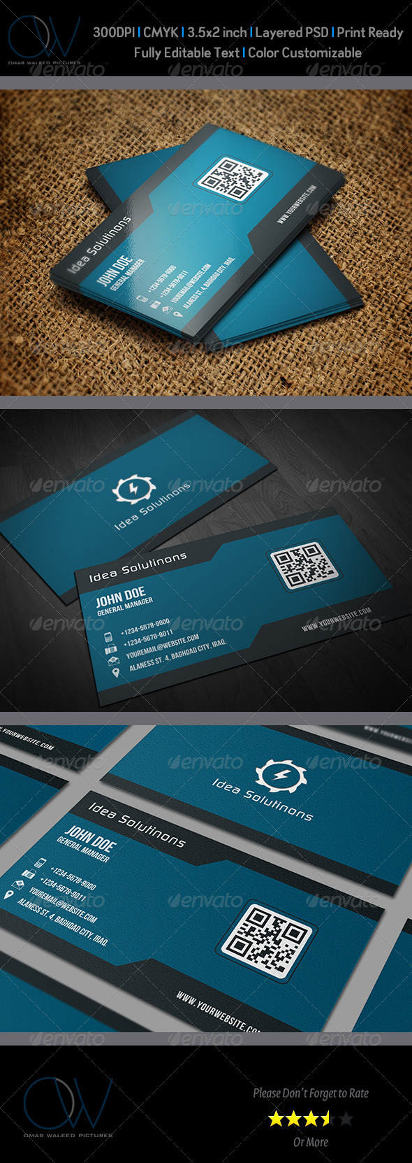 GraphicRiver Corporate Business Card Vol.9 3442089