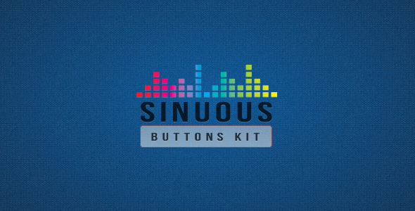 CodeCanyon Sinuous Buttons Kit 3442618