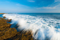 Waves Crashing Motion Blur Rocks Little Andaman - PhotoDune Item for Sale