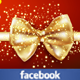 Christmas Ribbon FB Cover - GraphicRiver Item for Sale