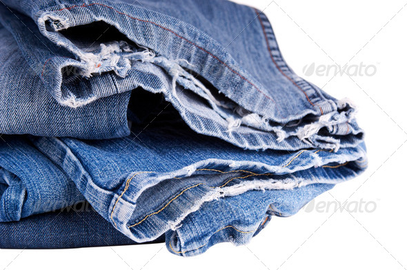 Torn Jeans - Stock Photo - Images