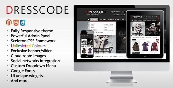 ThemeForest Dresscode Responsive Magento Theme 3296245