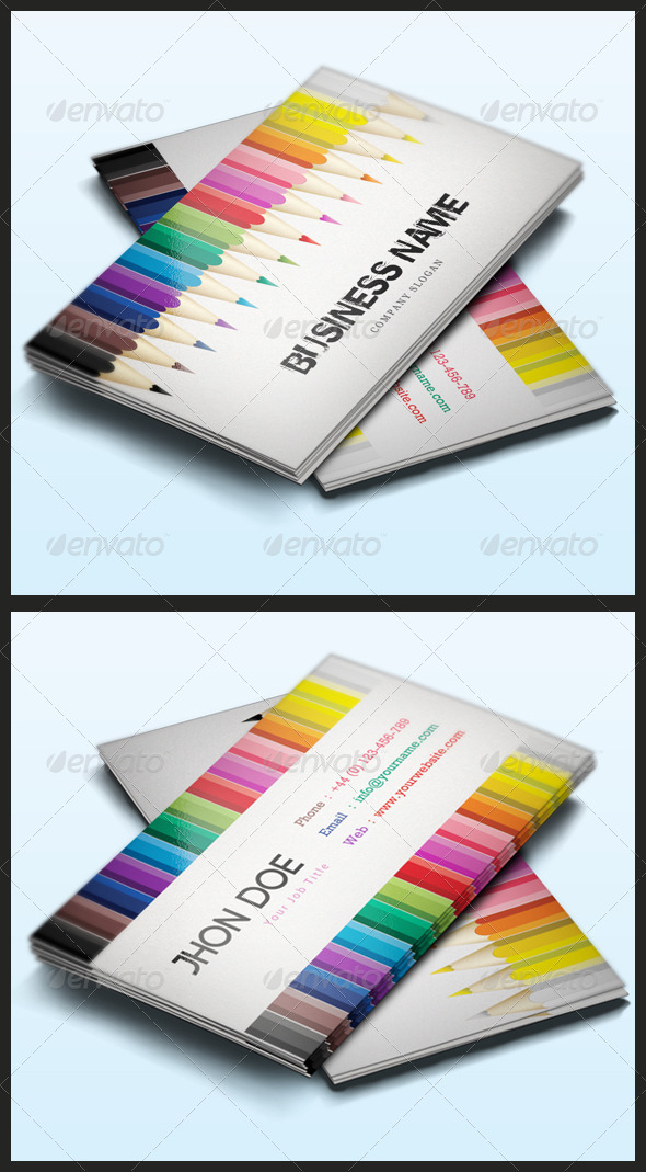 GraphicRiver Creative Business Card 3444485