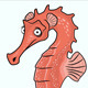 Seahorse Vector - GraphicRiver Item for Sale