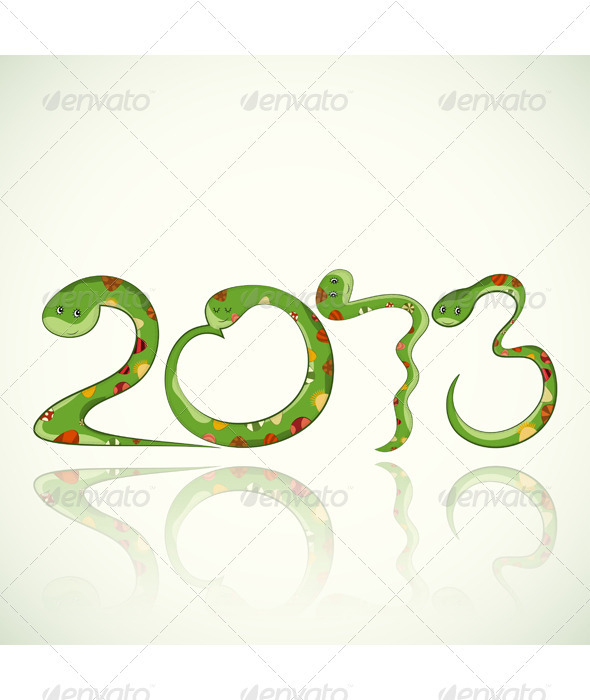GraphicRiver Year of the snake 3446693