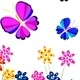 Flowers and Butterflies - GraphicRiver Item for Sale
