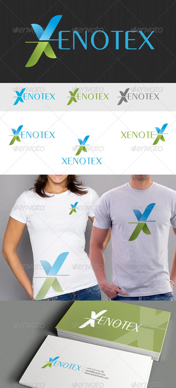 GraphicRiver Xenotex Logo 3404072