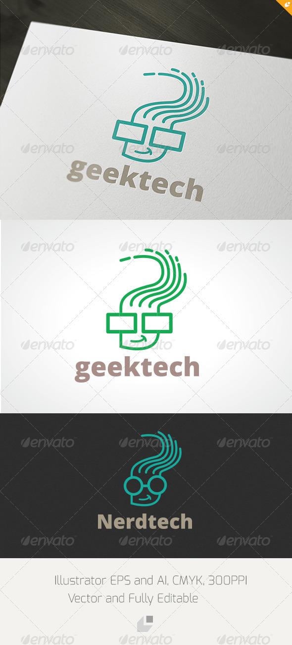 GraphicRiver Geektech Logo 3448153