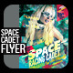 Space Cadet Flyer template - GraphicRiver Item for Sale