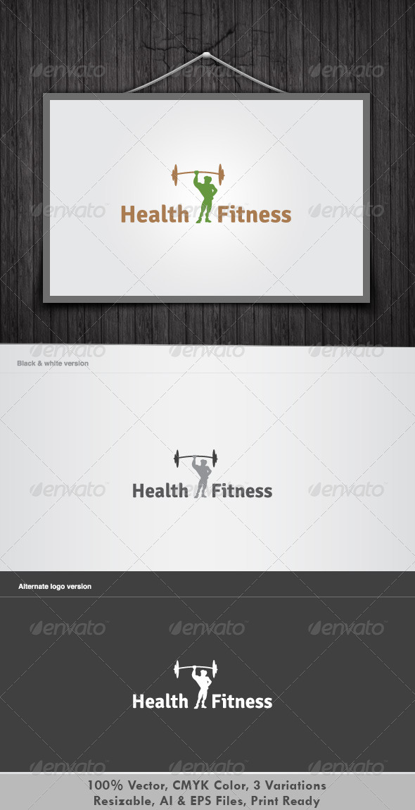 GraphicRiver Health & Fitness 3400495