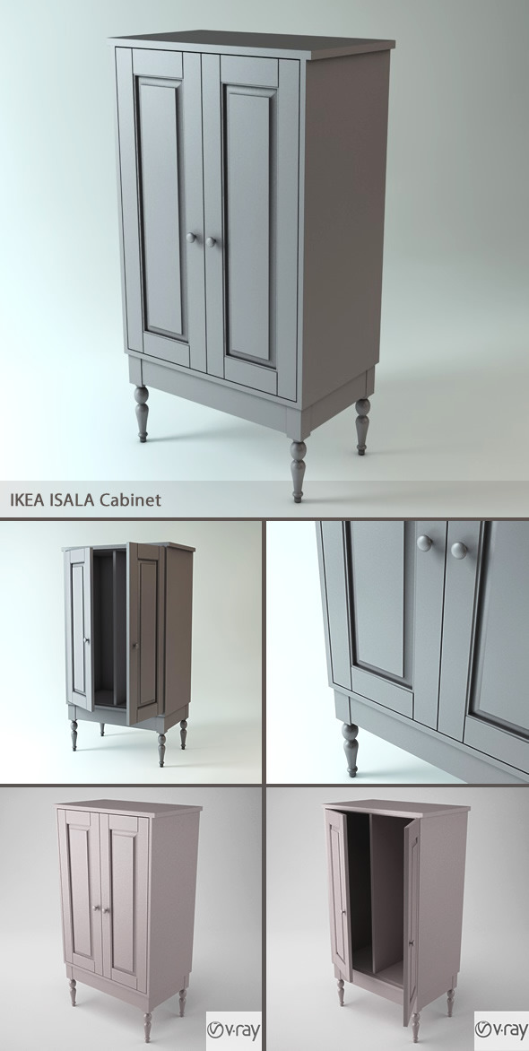 Isala Cabinet - 3DOcean Item for Sale