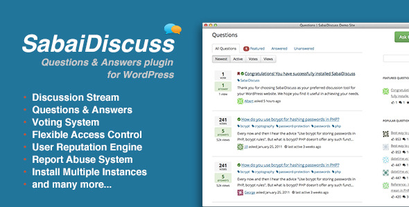 SabaiDiscuss for WordPress - CodeCanyon Item for Sale