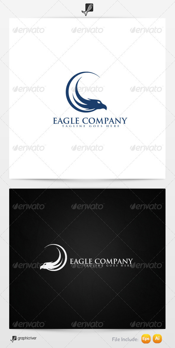 GraphicRiver Eagle Company Logo Template 3456040