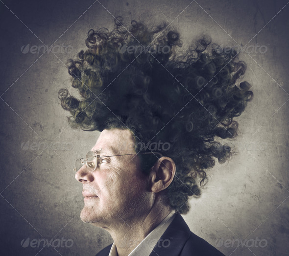 Strange Hair - Stock Photo - Images