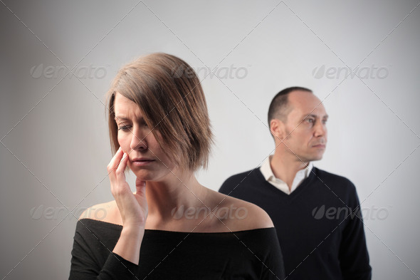 PhotoDune Sad Couple 3549852