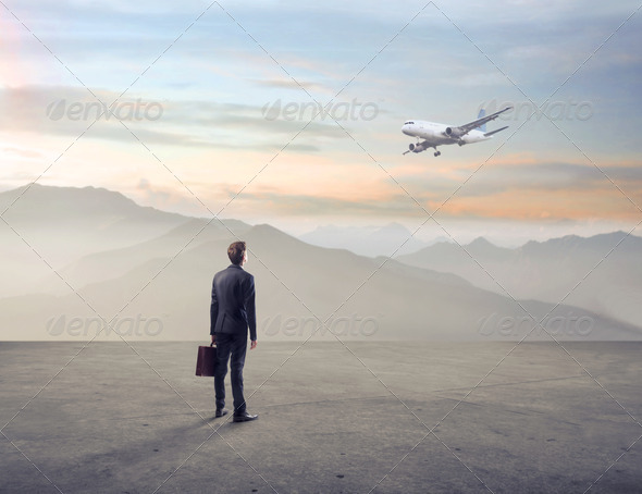 Business Airplane - Stock Photo - Images