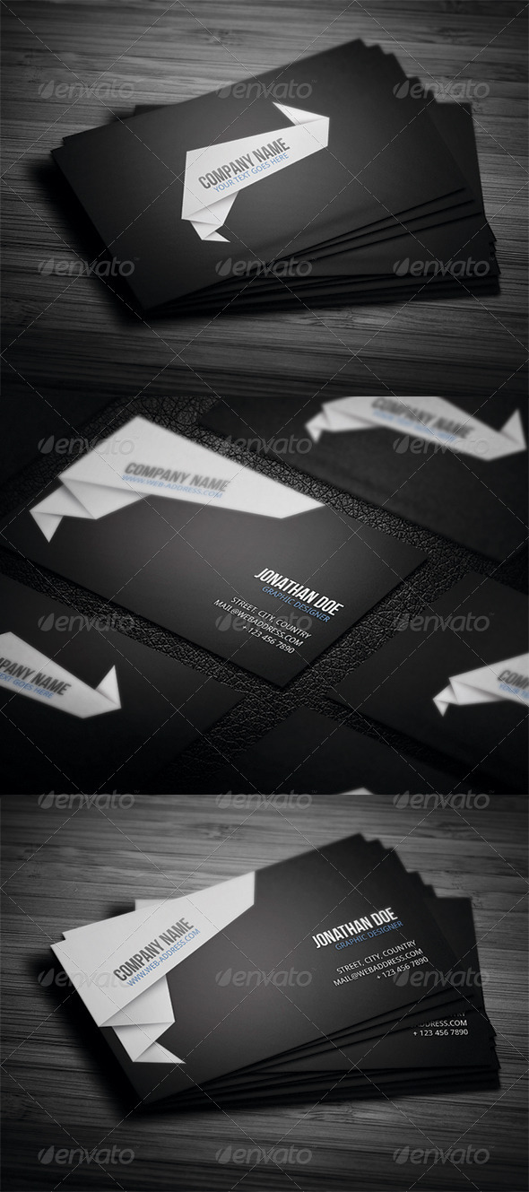 GraphicRiver Corporate Business Card N4 3457964