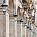 Streetlamps at Placa Reial, Barcelona - PhotoDune Item for Sale