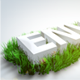 Spring Grass Logo - VideoHive Item for Sale