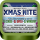 XMas Nite FB Timeline Cover - GraphicRiver Item for Sale