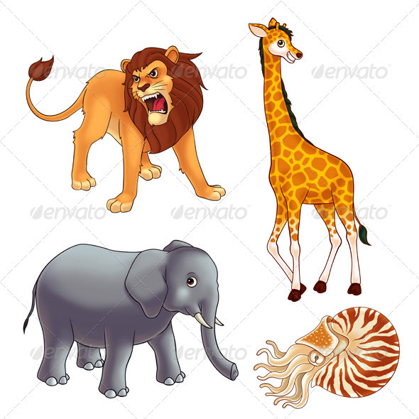 Animals 2 - Animals Illustrations