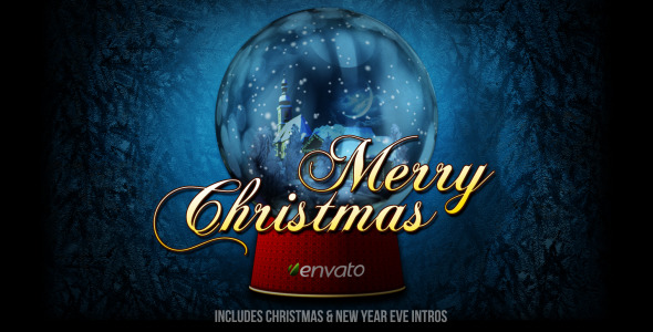 VideoHive Christmas Snowball 3461917
