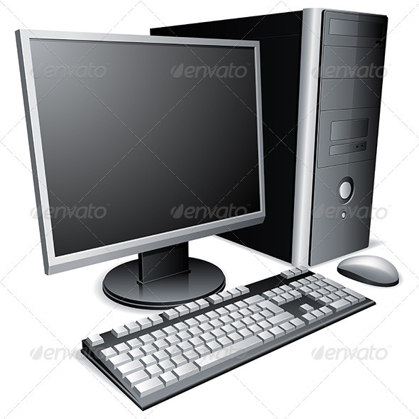 GraphicRiver Desktop Computer 3464865