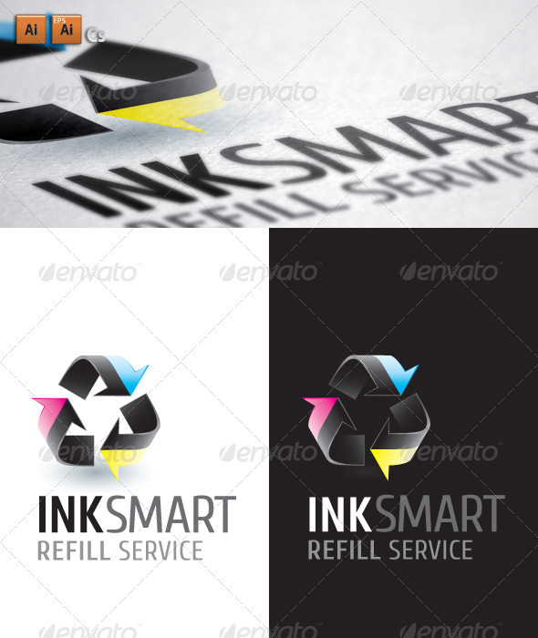 Ink Smart - Symbols Logo Templates