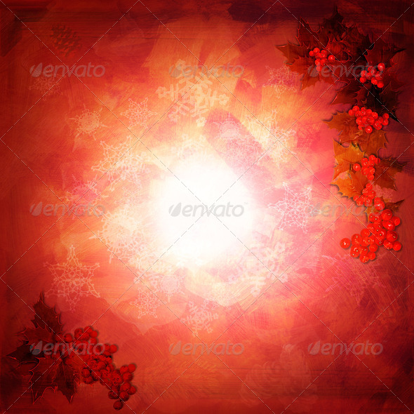 Red Christmas background - Stock Photo - Images