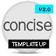 Concise - ThemeForest Item for Sale
