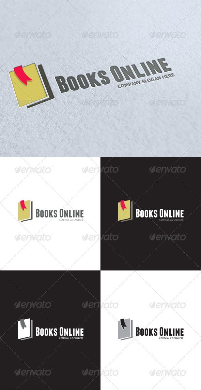 GraphicRiver Books Online Logo 3462816