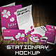 Professional Stationery 3D Mock-Up