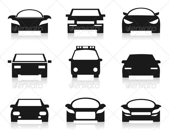 GraphicRiver Car Icon 2 3443630