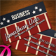 Americana Business Card - GraphicRiver Item for Sale