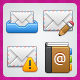 36 Positive Mail Icons - GraphicRiver Item for Sale