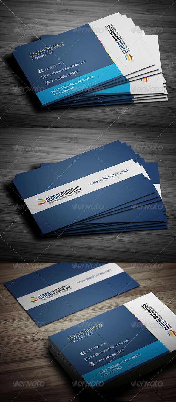 GraphicRiver Corporate Business Card 23 3475841