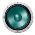 Isolated Speaker in Turquoise - PhotoDune Item for Sale