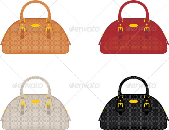 GraphicRiver Designer female bags 3477428
