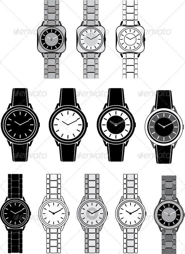 GraphicRiver Image of a female watch 3477467