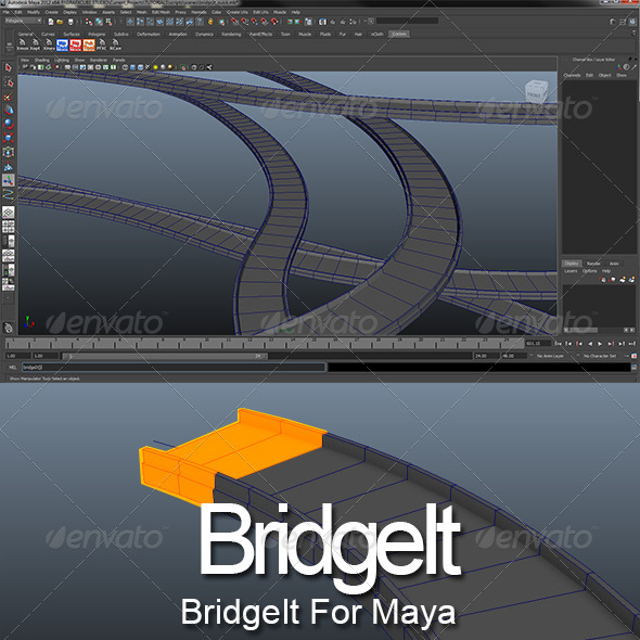 BridgeIt for Maya - 3DOcean Item for Sale