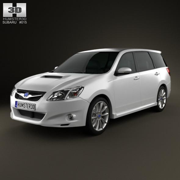 3DOcean Subaru Exiga 2008 3479087