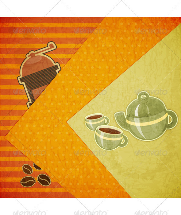 GraphicRiver Coffee Menu 3479927