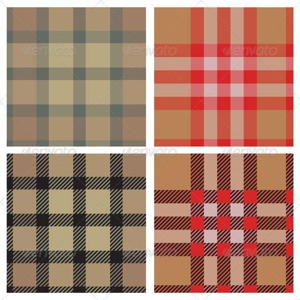 GraphicRiver Textile Seamless Pattern Set 3459110