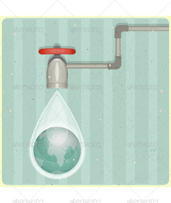GraphicRiver Eco Water Planet 3480178